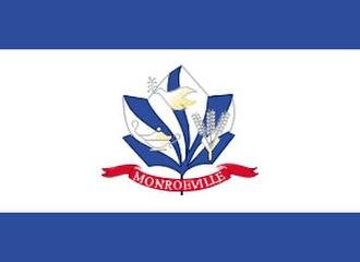 Monroeville, Pennsylvania - Image: Mon PA flag