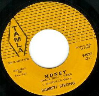 Money (That's What I Want) - Image: Money B Strong single
