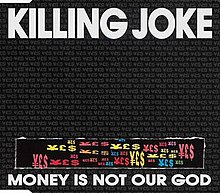 Money Is Not Our God CD Mini Single Frontcover