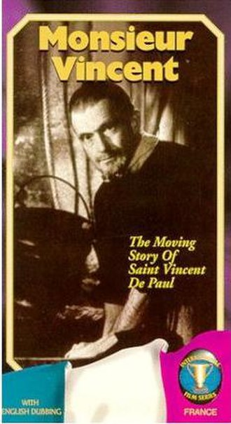 Monsieur Vincent - Cover of the Timeless Multimedia VHS edition
