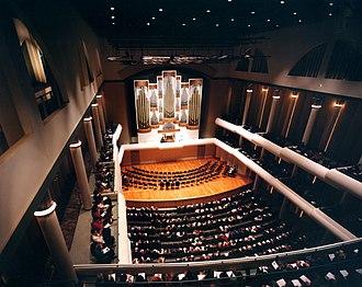 Woollen, Molzan and Partners - Frank Moody Music Building / University of Alabama - Tuscaloosa / Photographer: Balthazar Korab