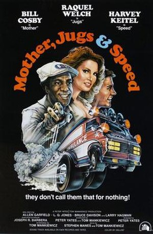 Mother, Jugs & Speed - Theatrical release poster
