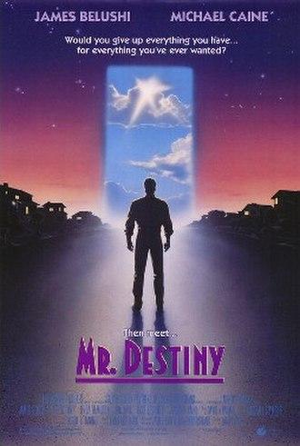 Mr. Destiny - Theatrical release poster