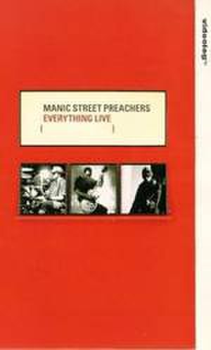 Everything Must Go (Manic Street Preachers album) - Cover of Everything Live