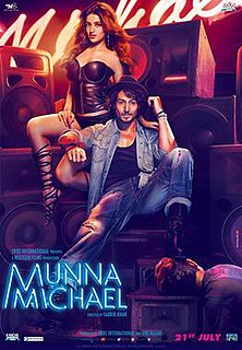 <i>Munna Michael</i> 2017 Indian Hindi-language action dance film