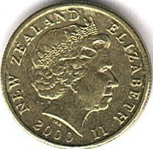 New Zealand one-dollar coin