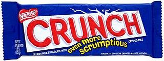 Crunch (chocolate bar) Candy bar