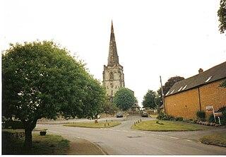 Newton Regis village in the United Kingdom
