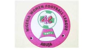 2014 Nigeria Women Premier League - Image: Nigeria Women Football League 1 logo