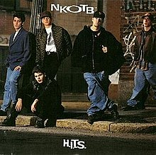 New Kids On The Block H I T S Album Cover