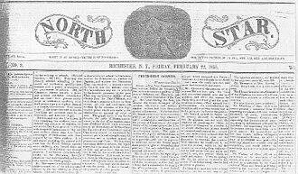 The North Star (anti-slavery newspaper) - February 22, 1856 issue