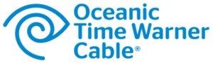 "Time Warner Cable - Former logo for ""Oceanic Time Warner Cable"" division"