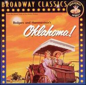 Oklahoma! (soundtrack) - Image: Oklahomacover