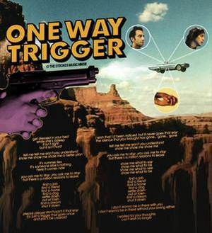 One Way Trigger - Image: One Way Trigger lyric poster