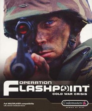Operation Flashpoint: Cold War Crisis - Image: Operation Flashpoint cover