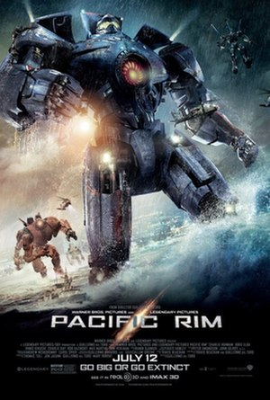 Pacific Rim (film) - Theatrical release poster