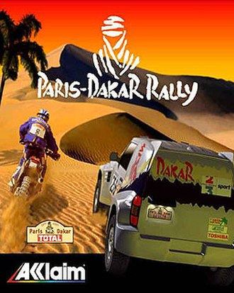 Paris-Dakar Rally (video game) - Image: Paris Dakar Rally (video game)