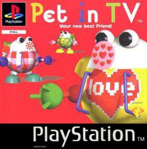 Pet in TV - PAL version cover art
