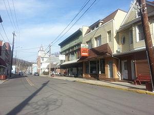 Piedmont, West Virginia - Downtown Piedmont in January 2014