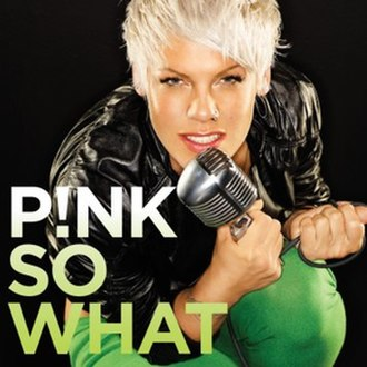 So What (Pink song) - Image: Pinksowhatcover