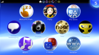 PlayStation Vita - LiveArea, the user interface for the Vita