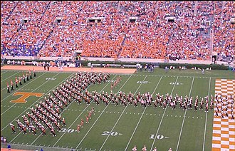 Pride of the Southland Band - The Pride of the Southland in the Power T.