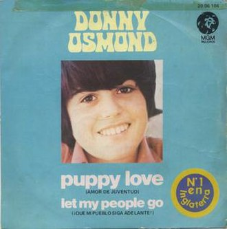 Puppy Love (Paul Anka song) - Image: Puppyloveosmond