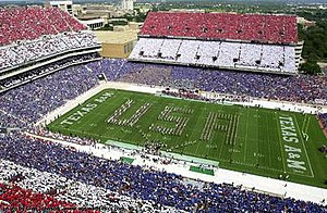 2001 Texas A&M Aggies football team - Red, White, and Blue Out game vs. Oklahoma State