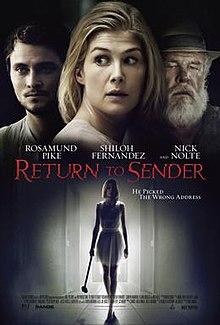 Return to Sender (2015 film) - Wikipedia