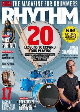 Rhythm (music magazine) - Image: Rhythm December 2018 cover