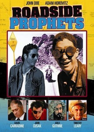 Roadside Prophets - DVD cover for the film