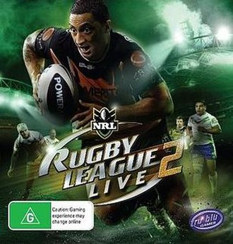 Rugby League Live 2 - Image: Rugby League Live 2 cover art