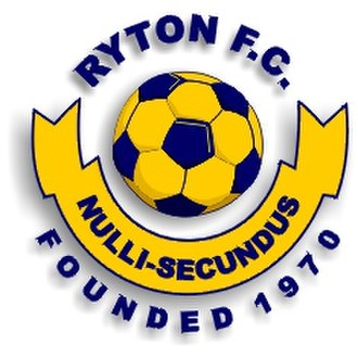 Ryton & Crawcrook Albion F.C. - The club crest when it was known as Ryton F.C.