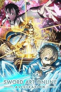 <i>Sword Art Online: Alicization</i> Wikipedia list article