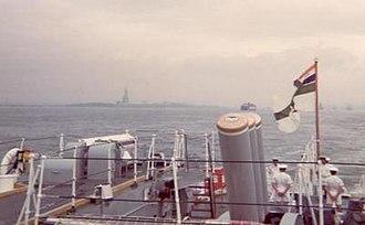 SAS President Kruger - Image: SAS President Kruger in New York