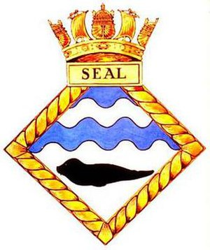 HMS Seal (N37) - Image: SEAL badge 1