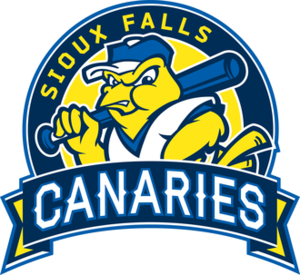 Sioux Falls Canaries - Image: SF Canaries