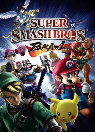 Super Smash Bros. Brawl - North American and European box art