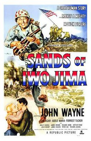 Sands of Iwo Jima - Original film poster