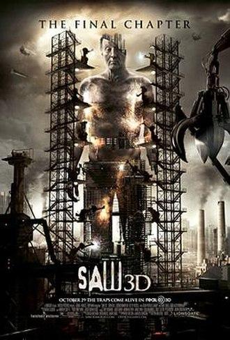 Saw 3D - Theatrical release poster