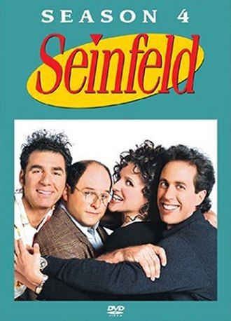 Seinfeld (season 4) - DVD cover