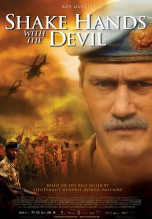 Shake Hands with the Devil (2007 film) - Theatrical release poster