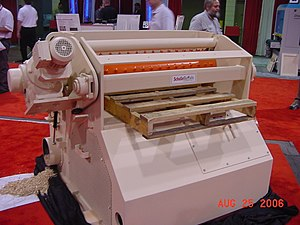 Hammermill - Slow speed horizontal pallet grinder