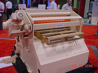 Hammermill - Slow speed horizontal pallet grinder