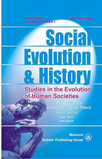 Social Evolution & History - Image: Social Evolution & History journal