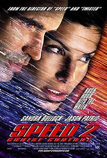 <i>Speed 2: Cruise Control</i> 1997 film by Jan de Bont
