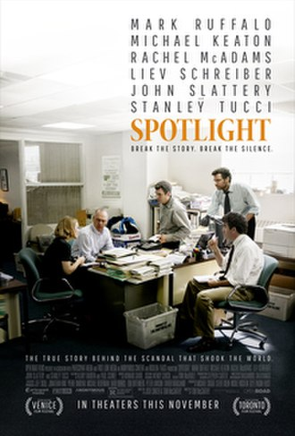 Spotlight (film) - Theatrical release poster