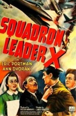 Squadron Leader X - U.S. promotional poster