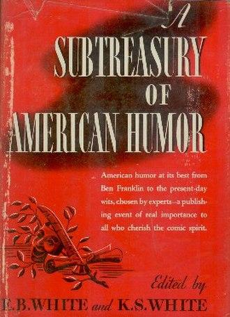 A Subtreasury of American Humor - First edition (publ. Coward McCann)
