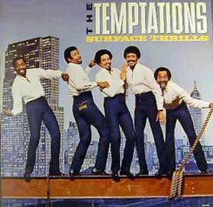 Surface Thrills - Image: Surface Thrills (The Temptations album) cover art